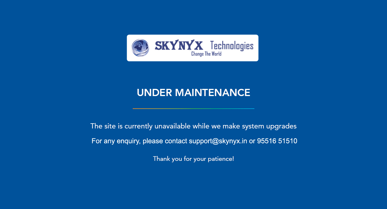 Site Under Maintenance